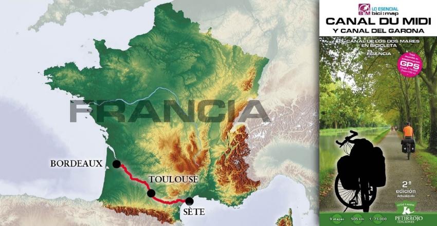 Canal du Midi y canal del Garona